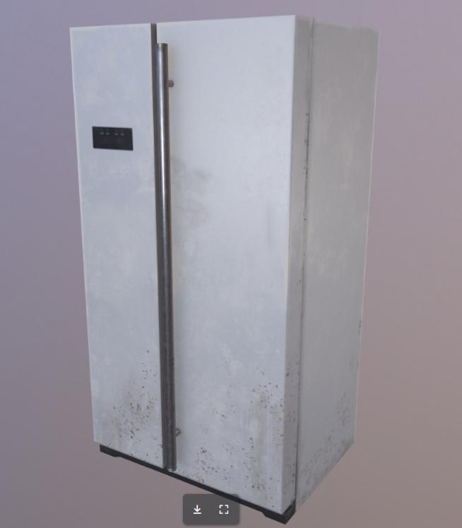 Low poly freezer