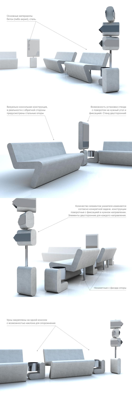 Концепт малых архетектурных форм