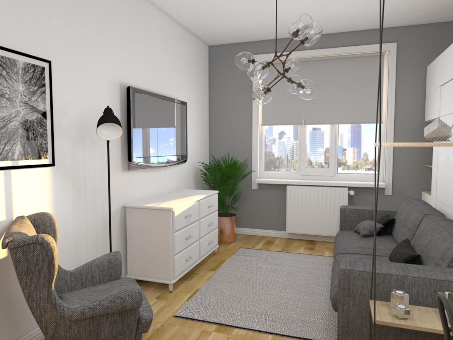 2х комнатная квартира в поселке Северном