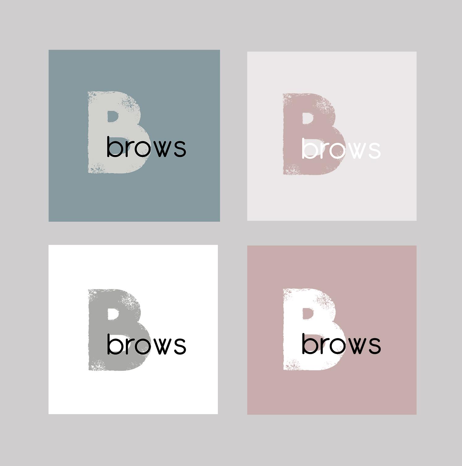 BBrows - лого для мастера бровиста