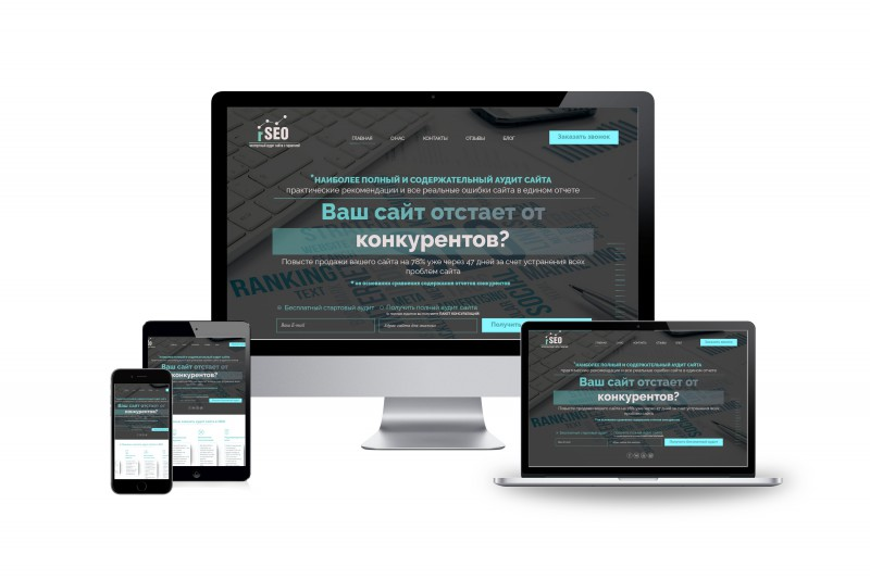 Сайт под ключ по продаже услуги аудита сайта