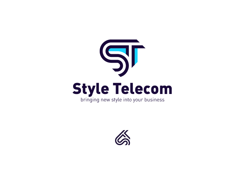 ПОБЕДА В КОНКУРСЕ. Логотип для компании Style Telecom