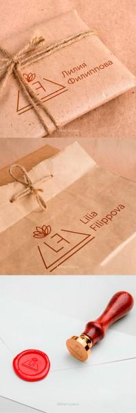 """Логотип """"Лилия Филиппова"""""""