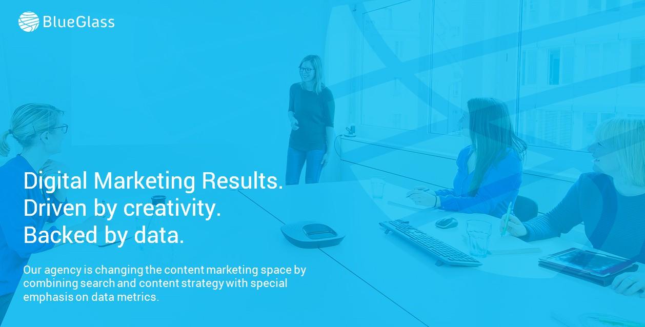 Полное заполнение сайта международного маркетингового агентства