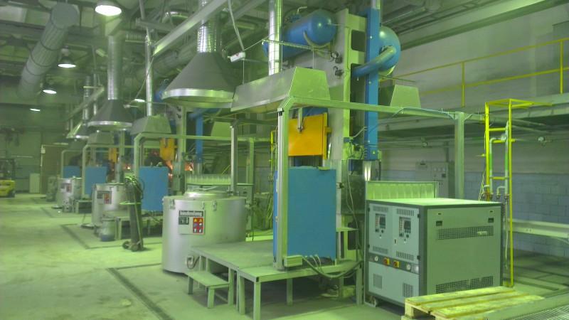 Проект вентиляции литейного цеха.