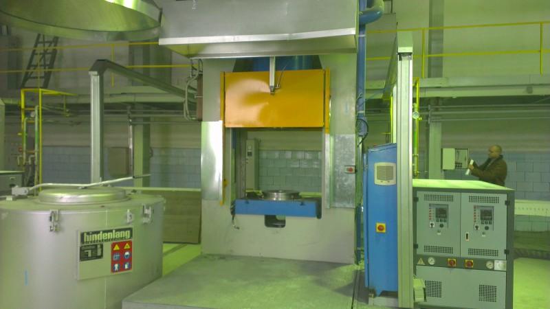 Разработка проектной документации литейных заводов и цехов