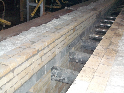 Модернизация проходных печей, применение современных материалов