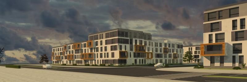 Проект жилого секционного здания