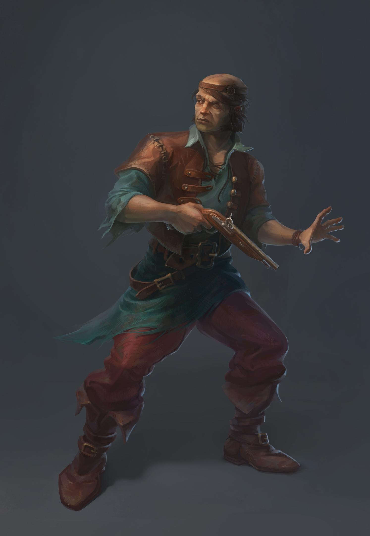 концепт пирата