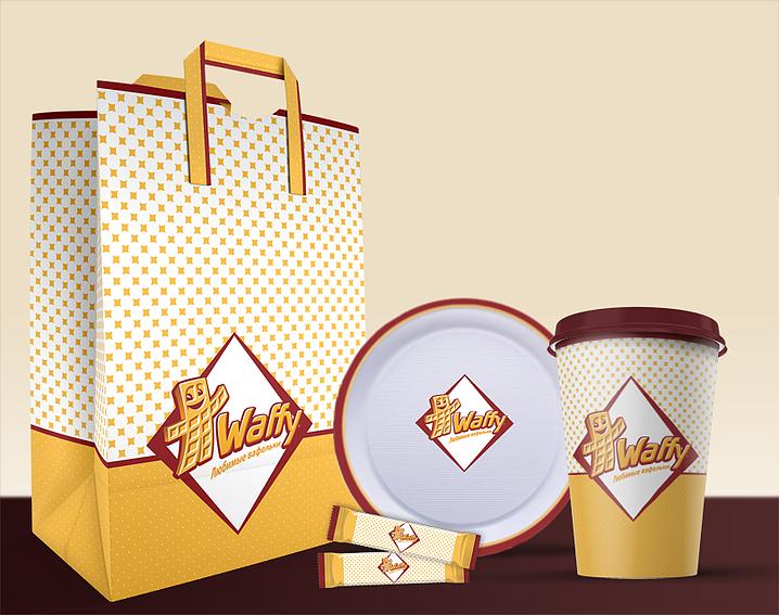 Разработка упаковки для кафе
