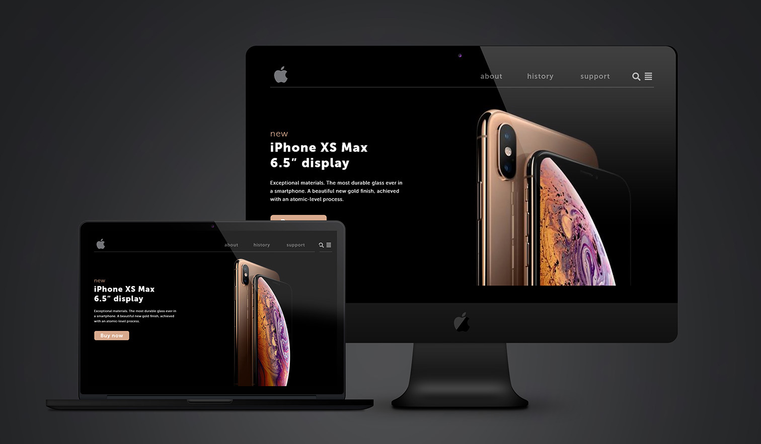 Landing Page_Apple