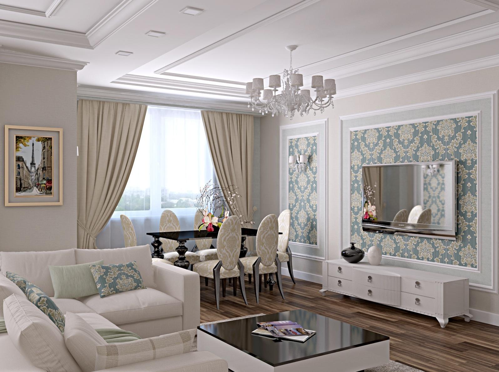 очень ютуб картинки дизайн гостиной в стиле классика интересного читайте статье