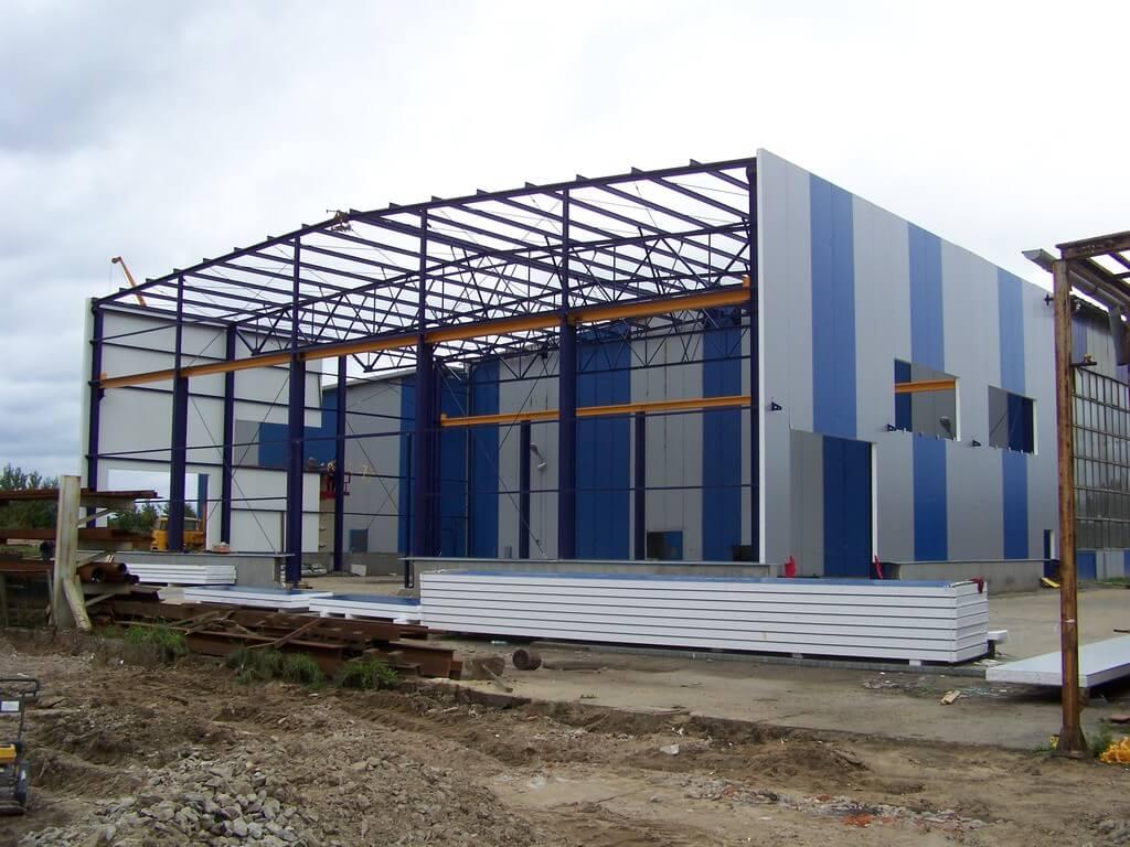 Строительство пристроек к производственным зданиям