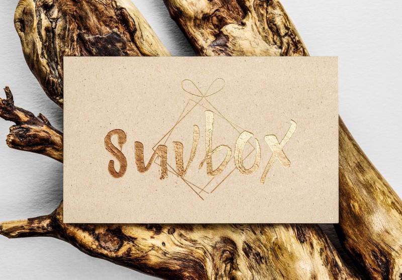 Логотип для подарочных упаковок