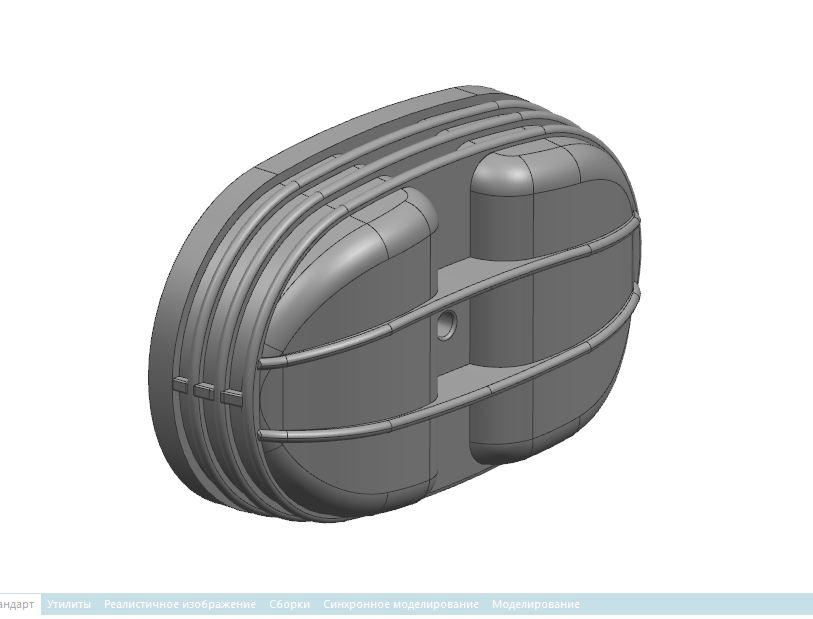 Клапанная крышка мотоцикла Урал 650сс