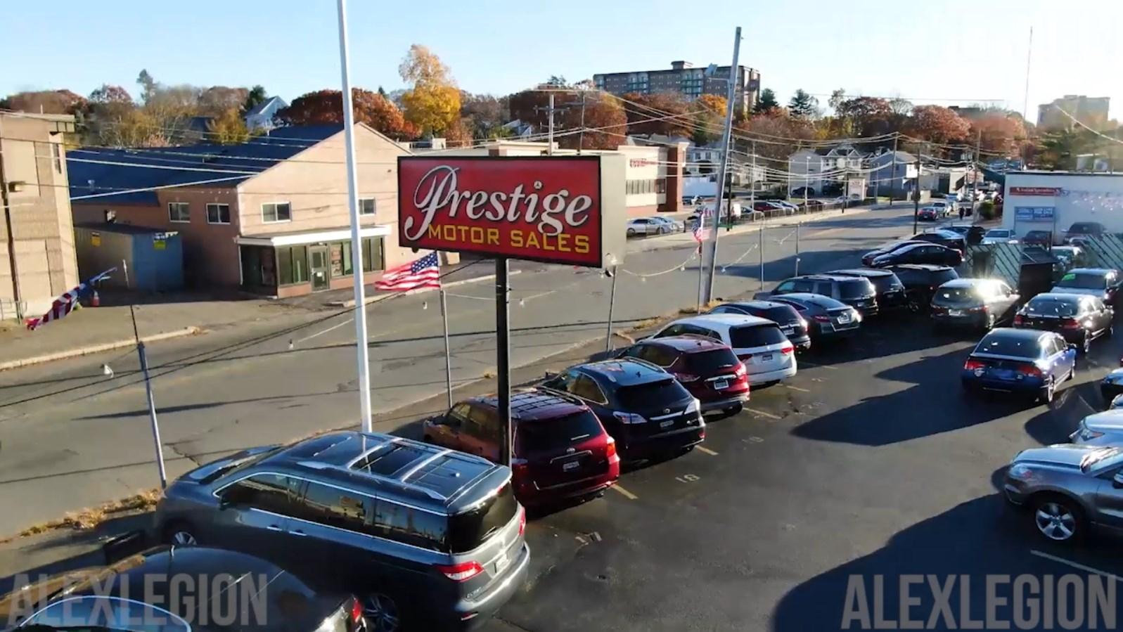 Prestige motors. USA. Реклама