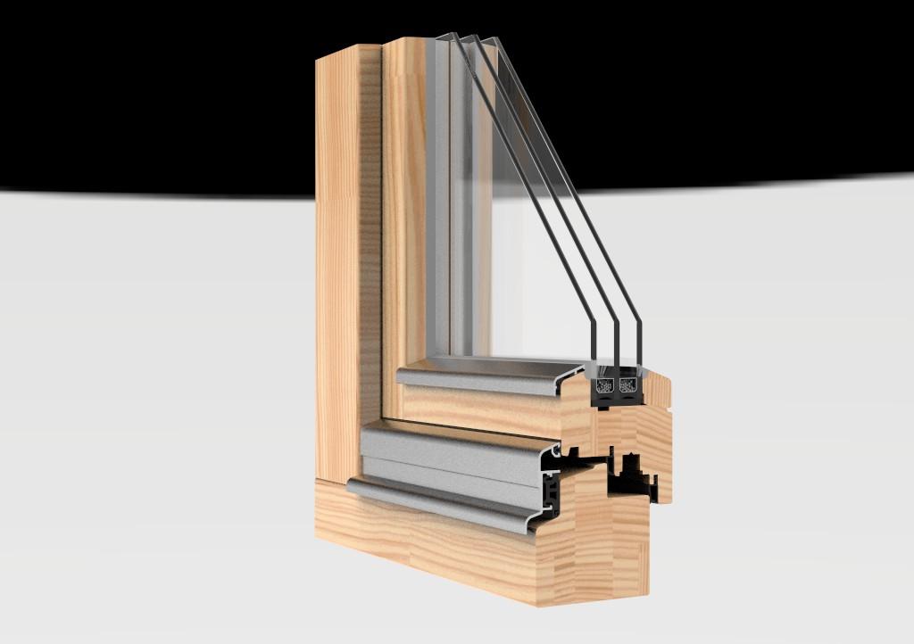 Визуализация окна в разрезе