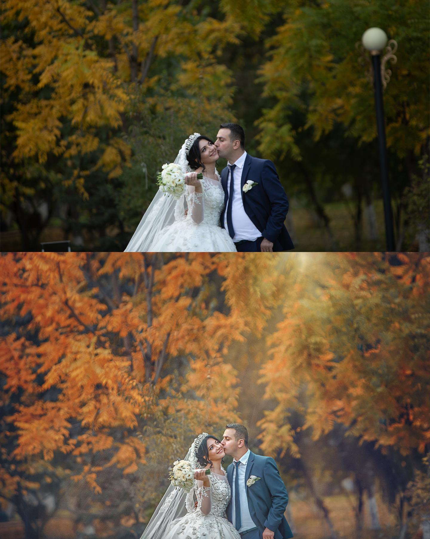 обработка свадебных фото для начинающих пробовала