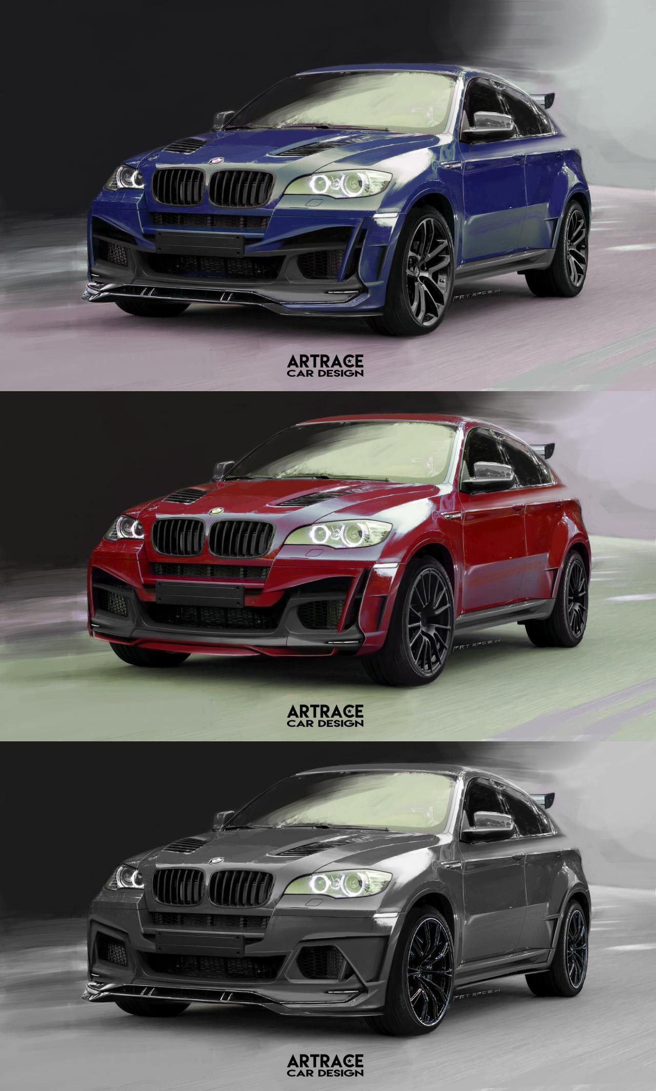 BMW X6 Artrace body-kit