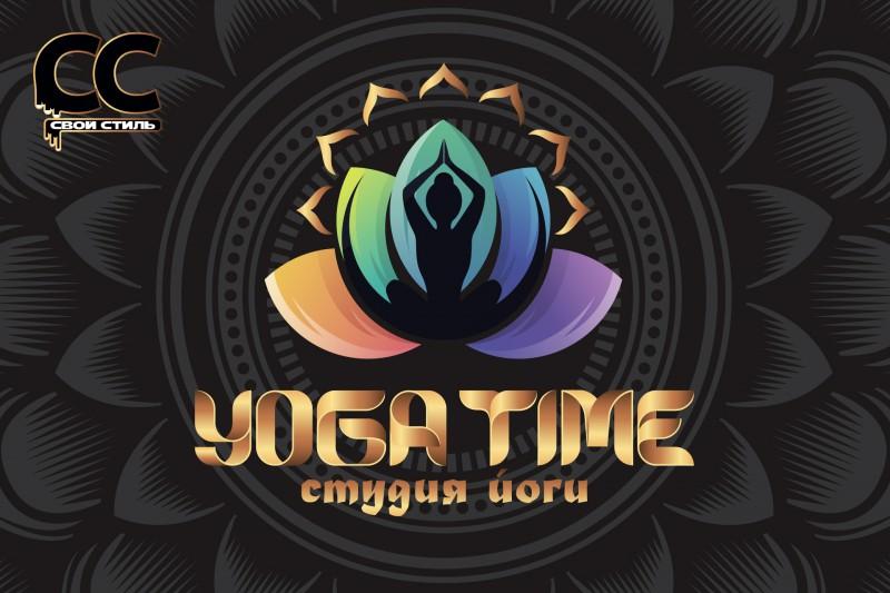 ЛОГОТИП - YOGA TIME - Студия Йоги