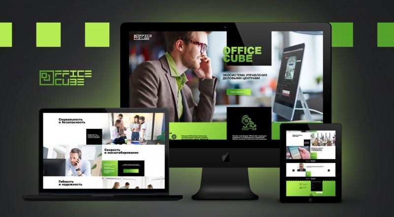 Лендинг OfficeCube