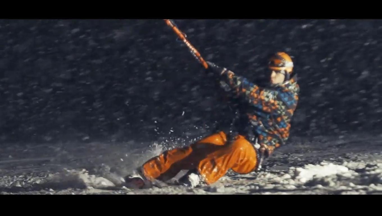 Видеоролик о спорте Snowkiting от Ars studio.