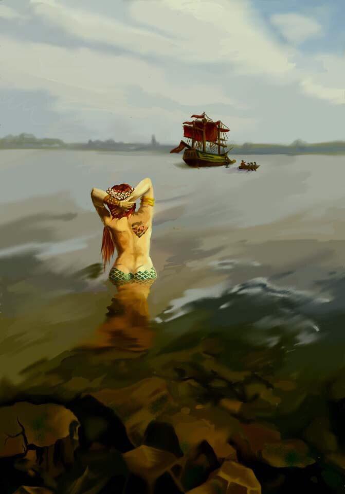 Русалка Елена