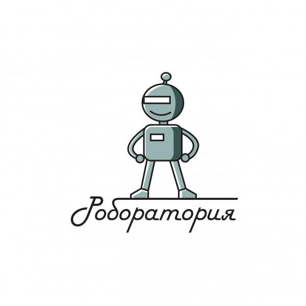 """Вариант логотипа для проекта """"Роборатория"""""""