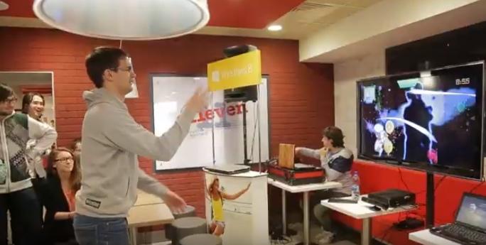 Отчетное видео для KFC
