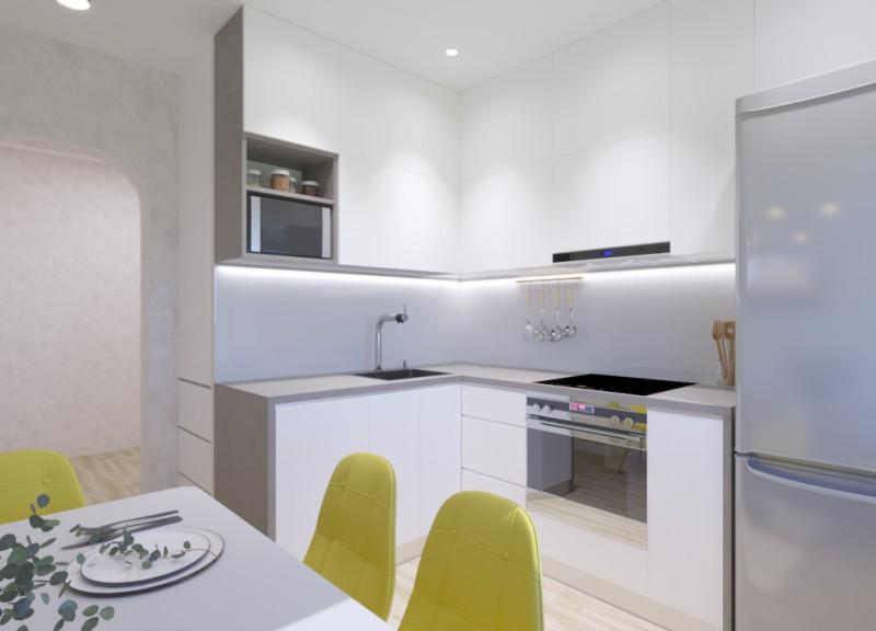 Кухня 8.5 м.кв