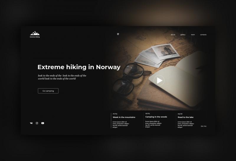 Экстремальные походы в Норвегии