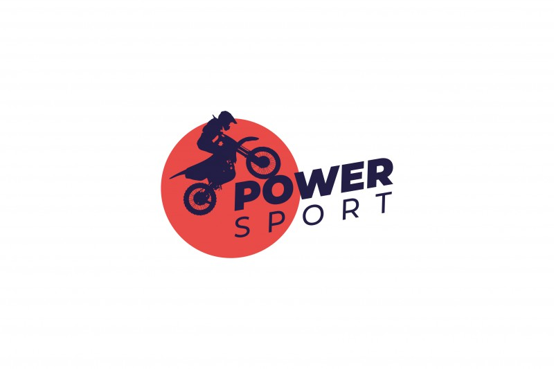 Разработка  логотипа Power Sport