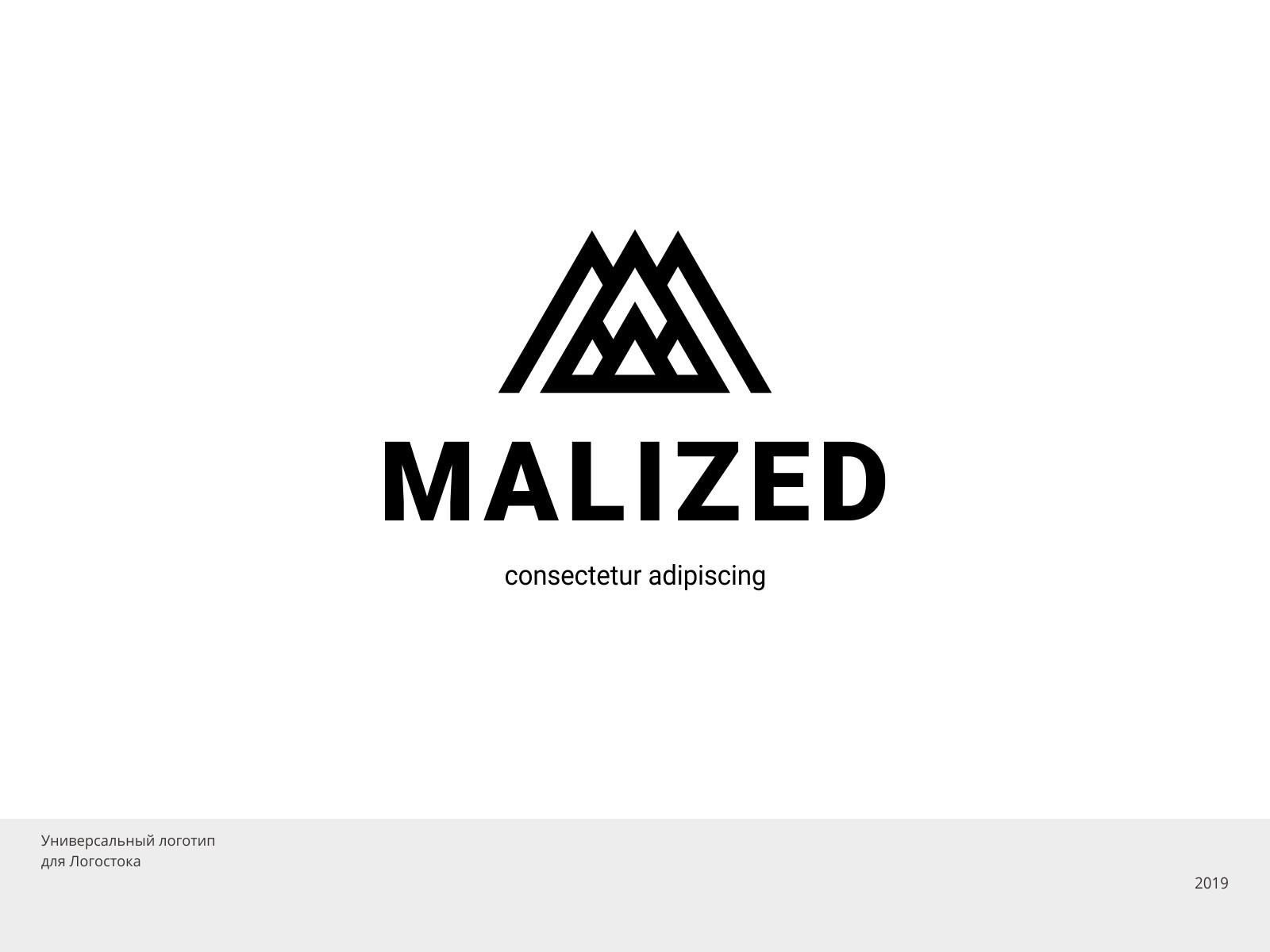 Логотип Malized