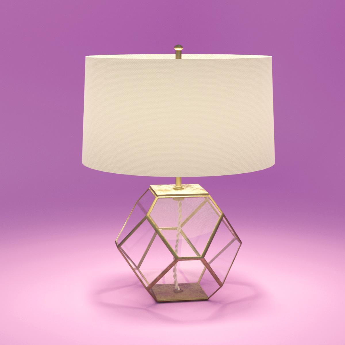 Моделирование лампы