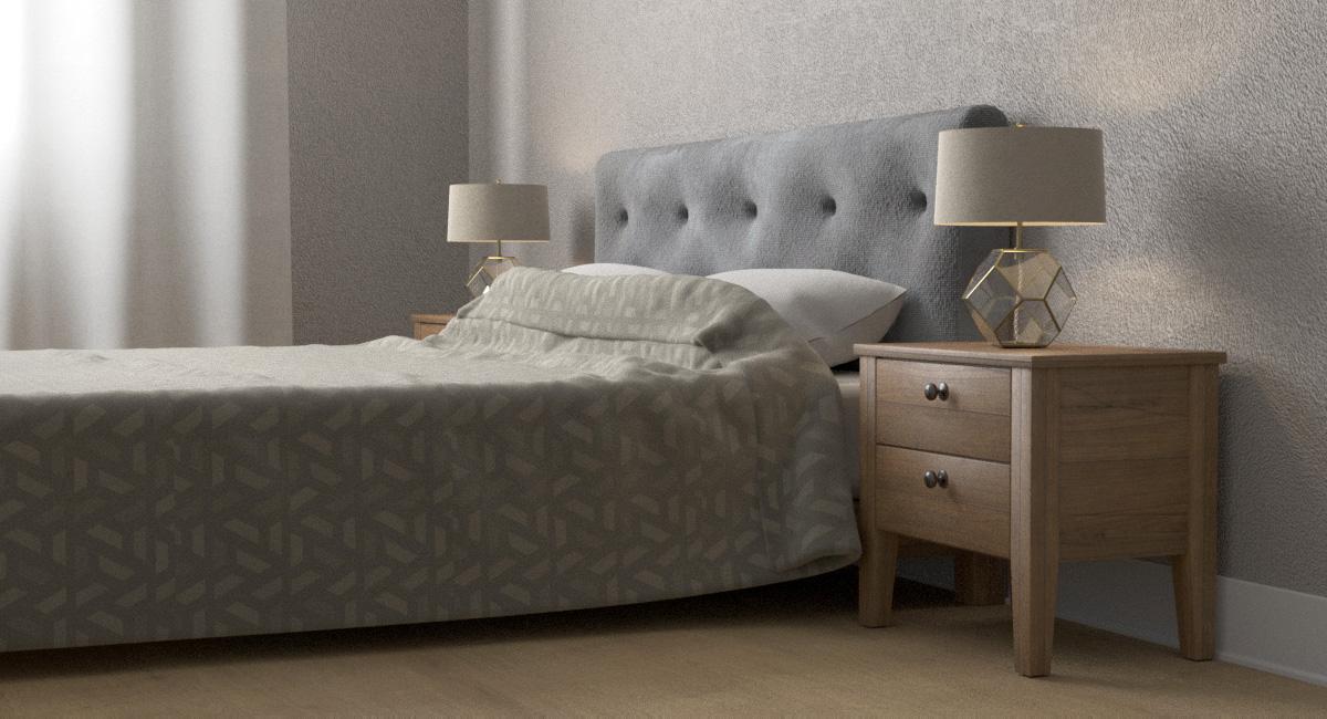 Моделирование спальни