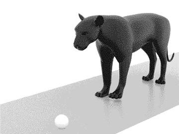 Анимация пантеры
