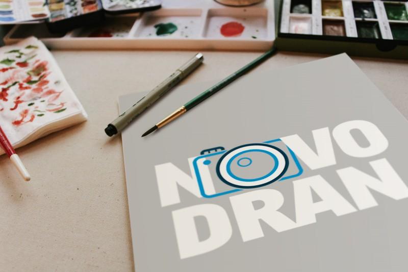 Логотип для сайта Novodran