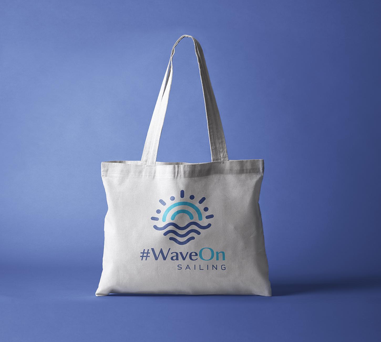"""Фирменный стиль компании морских круизов """"Wave On"""""""