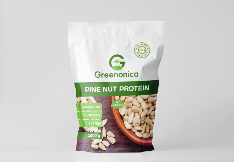 Разработка упаковки зип-лок для серии протеина Greenonica