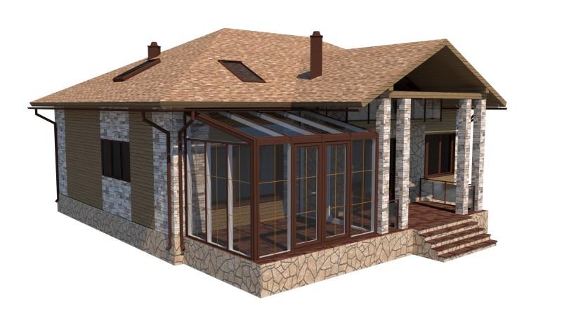 Визуализация экстерьера частного дома