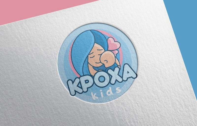 Логотип детского магазина