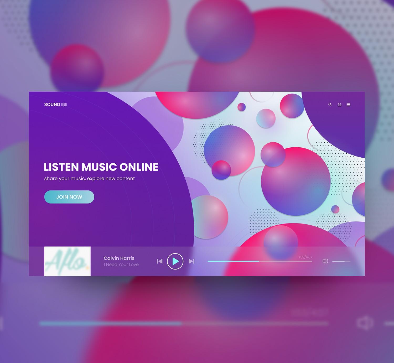 Сайт для прослушивания музыки онлайн