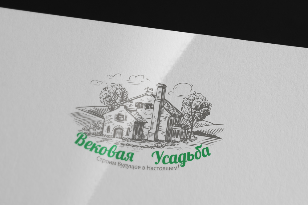 Разработка логотипа Вековая Усадьба