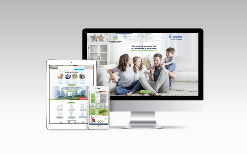 Разработка сайта для ооперативной компании