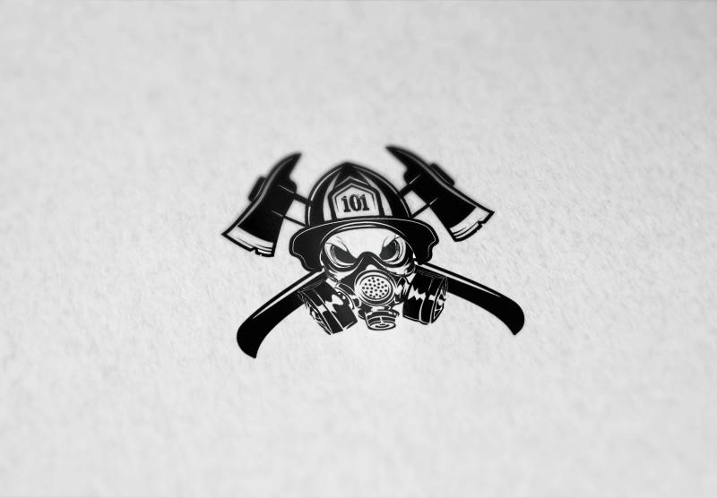 Лого для пожарного подразделения