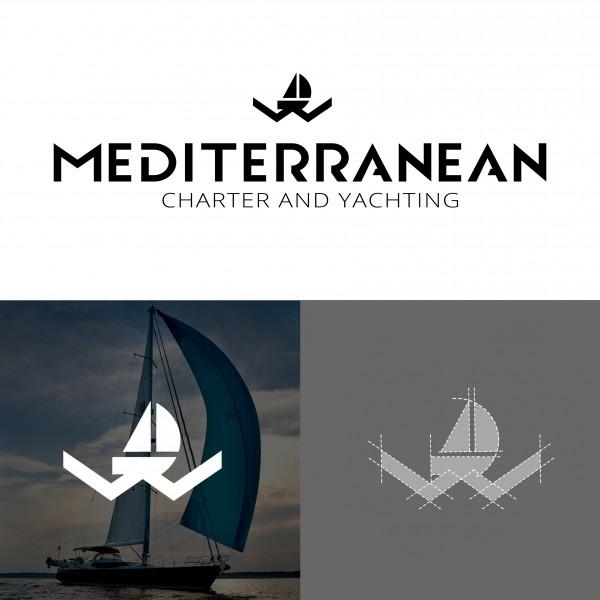 """логотип для туристической компании """"Mediterranean"""""""
