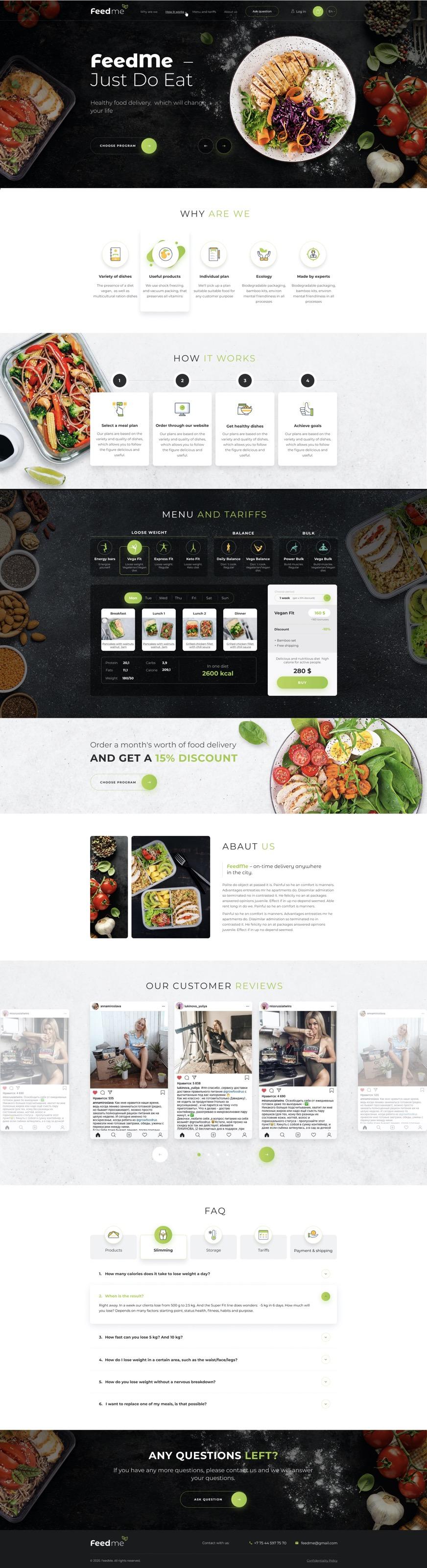 Feedme | Food Store