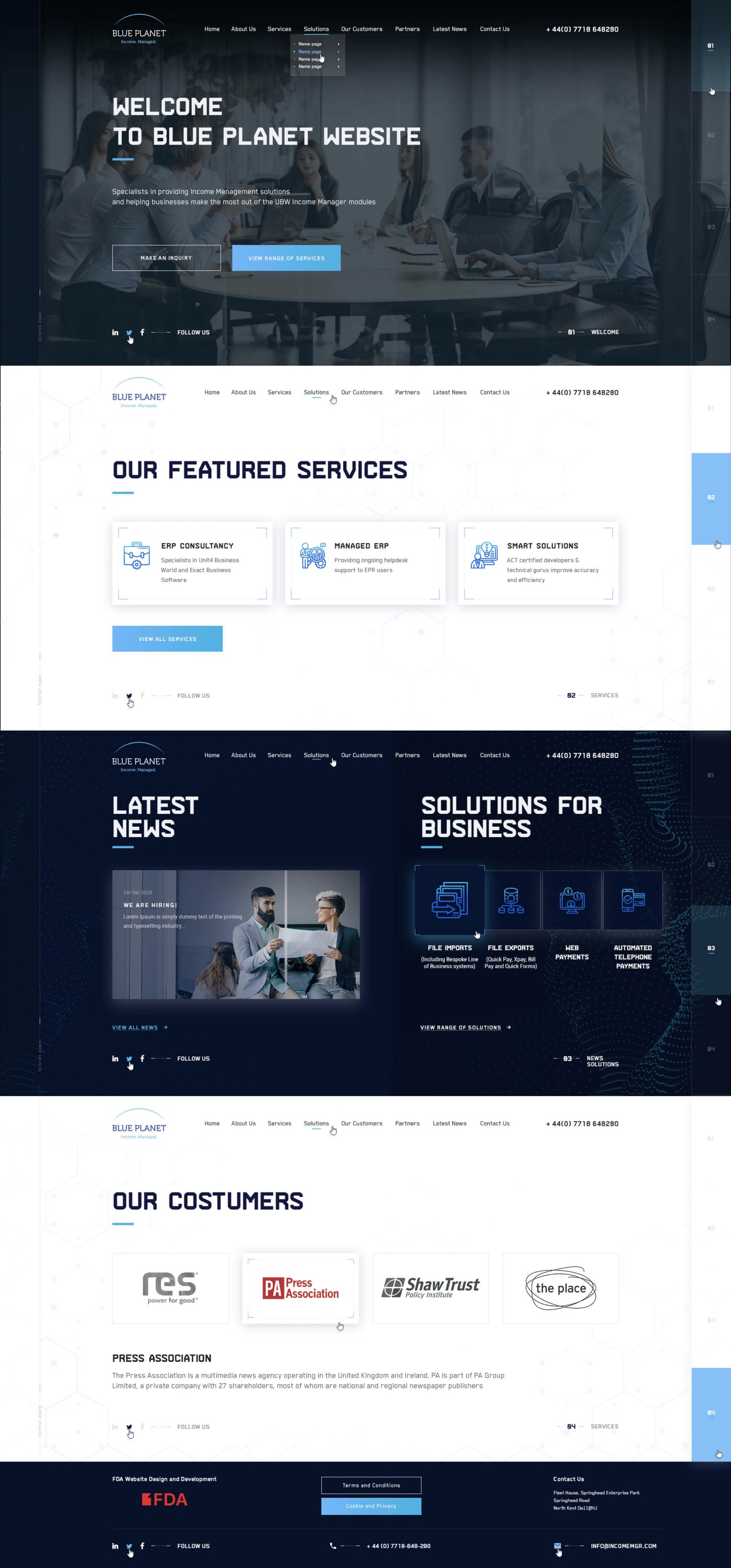 Blue Planet Soft | Corporate