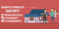 Инфографика, флаер, брошюра агентство недвижимости