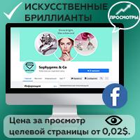Таргетированная реклама Facebook - просмотры целевой страницы, о